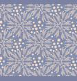 dandelion polka dot seamless pattern vector image vector image