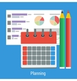 Planning business concept vector image