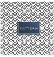 fish scale pattern background image vector image