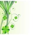 Happy Saint Patrick Day Background vector image