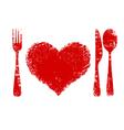 heart health concept vector image