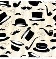 Vintage design seamless background vector image