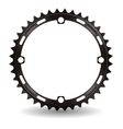 Chainwheel vector image