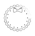seal stamp decorative vector image