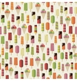 summer pattern ice creame vector image