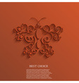 butterfly background Eps10 vector image