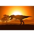 Tyrannosaurus Rex vector image