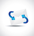 email symbol with arrow vector image
