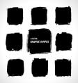 Grunge shapes vector image