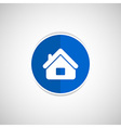 House icon home symbol element vector image