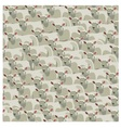 Seamless pattern all sheep vector image