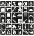 toys icons vector image
