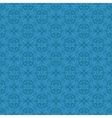 Seamless Texture on Blue vector image vector image