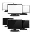 Computer Monitors vector image