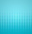 Blue Halftone Backdrop vector image