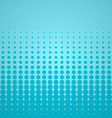 Blue Halftone Backdrop vector image