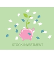 Stock investment vector image