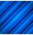 Blue silk waves vector image