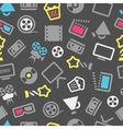Cinema pattern vector image