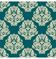 Dainty damask style seamless pattern vector image