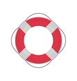 Ring lifebuoy vector image