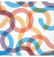 background print circle round orange square vector image