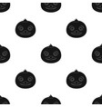 Duck muzzle icon in black style isolated on white vector image