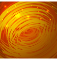 Abstract background with golden spiral vector image vector image
