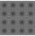 Design seamless decorative flower pattern vector image
