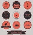 Car Auto Parts Vintage Label Design vector image vector image
