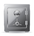 steel safe vector image vector image