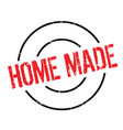 home made rubber stamp vector image