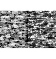 Black and white fish background vector image