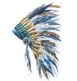 American native hat vector image