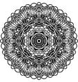 Boho decorative element for design Monochrome vector image