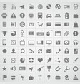Web icons collection vector image