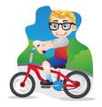 Bicycle Boys vector image vector image