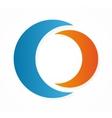 moon logo design elements vector image