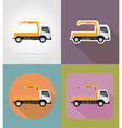 transport flat icons 28 vector image