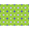 pattern with stitches and buttons vector image