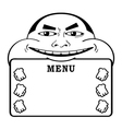 beer lover menu vector image vector image