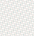 White cubed texture seamless pattern with blue vector image