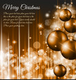 Merry Christmas Elegant vector image