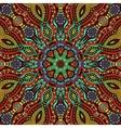 Circle decorative ornamental pattern vector image