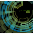 techno abstract background vector image vector image