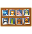 Photos of animals vector image vector image