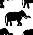 background elephant vector image