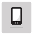 flat icon mobile phone vector image