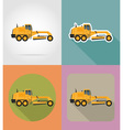 transport flat icons 29 vector image