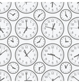 clock seamless pattern The electronic device vector image